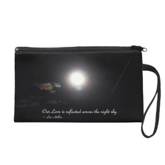 Our Love is reflected across... Wristlet Purse