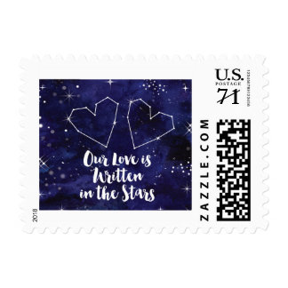 Our Love is Written in the Stars Postage Stamp