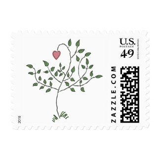 Our Love Postage Stamps