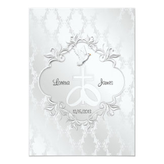 Our Love Religious Wedding Invitation
