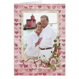 Our Love Story Greeting Card
