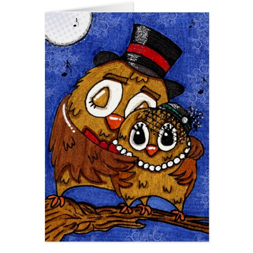 Our Love Will Keep Us Warm at the Opera Stationery Note Card