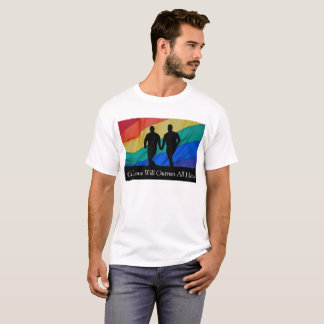 Our Love Will Outrun All Hate Gay Pride Shirt