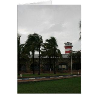 Our Lucaya Grand Bahamas Lighthouse Freeport Port Card