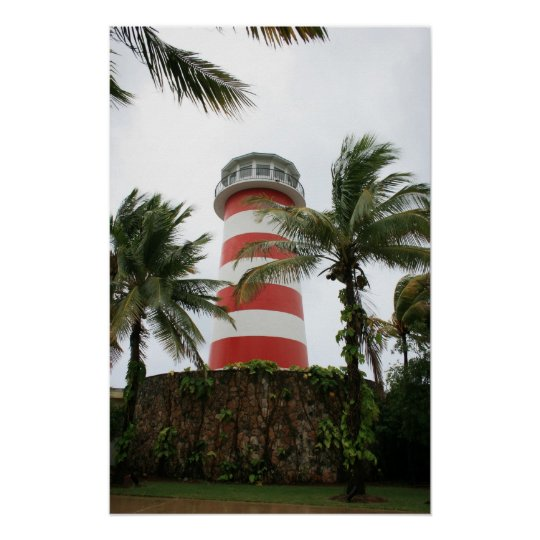 Our Lucaya Lighthouse Grand Bahamas Freeport Poster