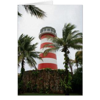 Our Lucaya Lighthouse Grand Bahamas Island Card