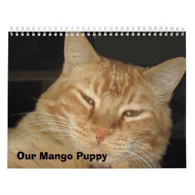 Our Mango Puppy Calendar