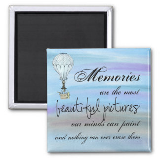 Our Memories 2 Inch Square Magnet