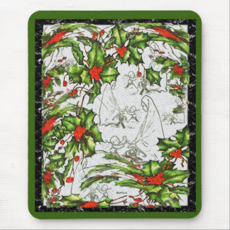 Our Messiah's Birth Mousepad