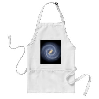 Our Milky Way Gets a Makeover Adult Apron