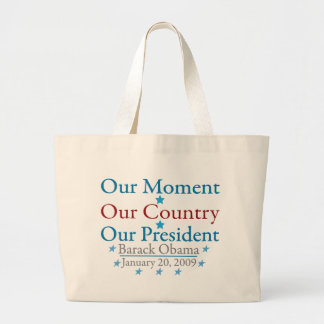 Our Moment Obama Inauguration Day 2009 Bag