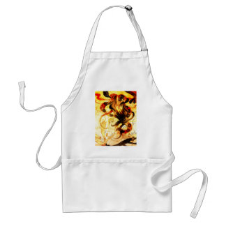 OUR MONSTER EGO ADULT APRON