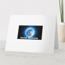 our moon card