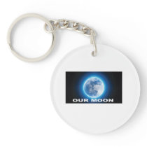 our moon keychain