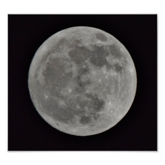 Our Moon Poster