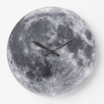 Our Moon Wall Clock
