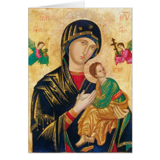 Our Mother of Perpetual Help Note Card w/prayer