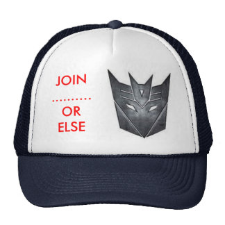 our motto trucker hat