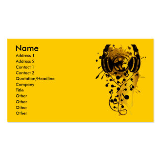 Our_Music Business Card Template