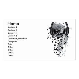 Our_Music Business Card