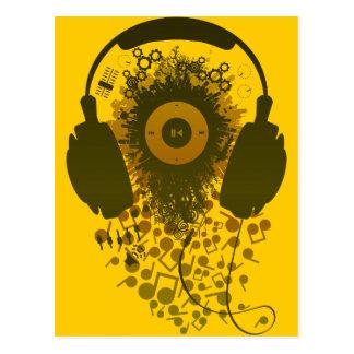 Our_Music Tarjeta Postal