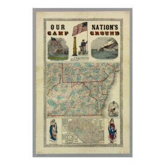 Our Nation's Camp Ground Print