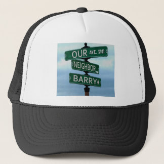 Our Neighbor Barry Trucker Hat