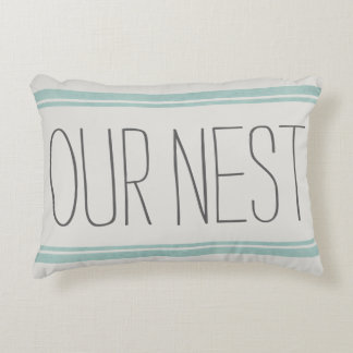 OUR NEST Reversible Accent Pillow