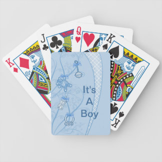 Our New Addition In Blue Hues Bicycle Playing Cards