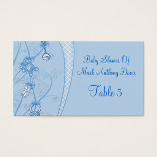 Our New Addition In Blue Hues Business Card