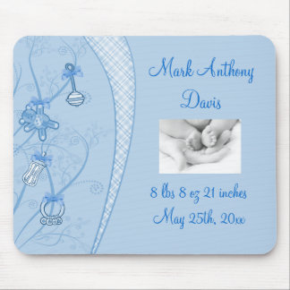 Our New Addition In Blue Hues Mouse Pad