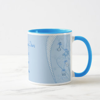 Our New Addition In Blue Hues Mug