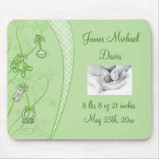 Our New Addition In Green Hues Mouse Pad