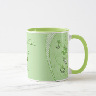 Our New Addition In Green Hues Mug