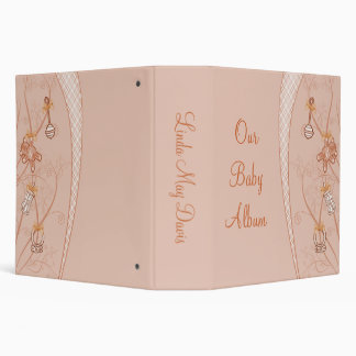 Our New Addition In Peach Hues 3 Ring Binder