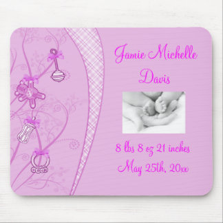 Our New Addition In Pink Hues Mouse Pad