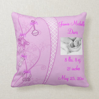 Our New Addition In Pink Hues Pillow