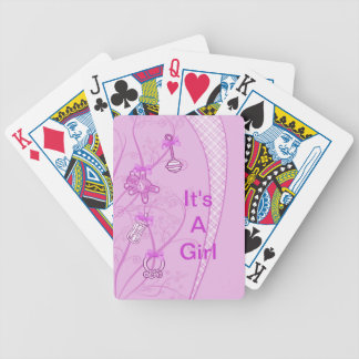Our New Addition In Pink Hues Playing Cards