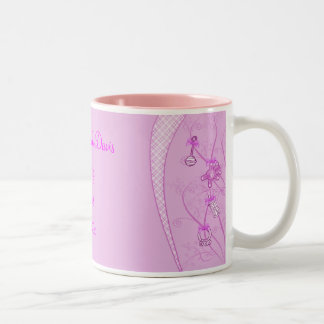 Our New Addition In Pink Hues Two-Tone Coffee Mug