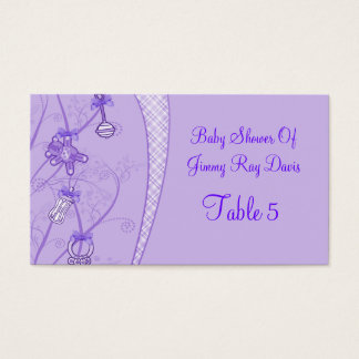 Our New Addition In Purple Hues Business Card