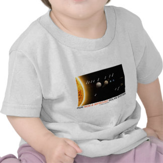 Our New And Improved Solar System (Galactic Humor) T-shirts