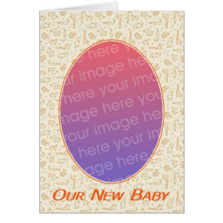 Our new baby card