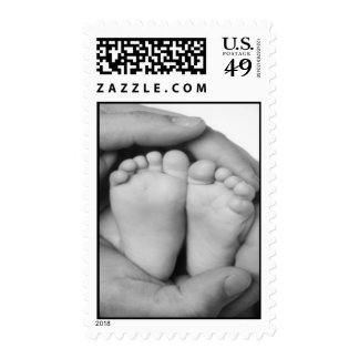 Our new baby postage stamps