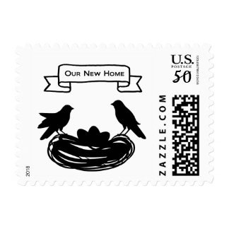 OUR NEW HOME/Change of Address/Pick Your Color Postage