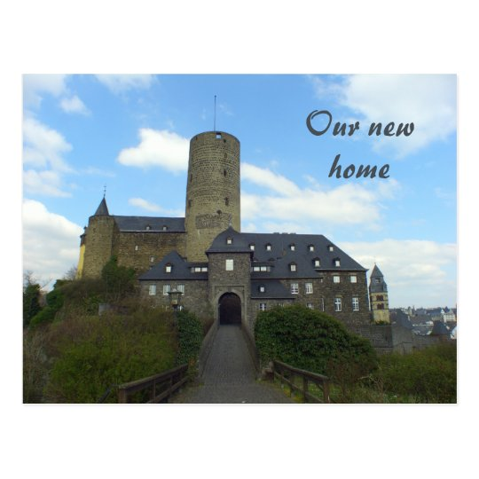 Our new home - We've moved castle cards