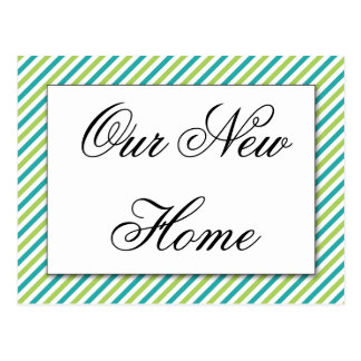 Our New Home, We've moved Postcard
