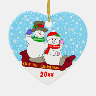 Our Nth Christmas Christmas Tree Ornament
