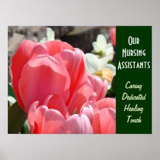 Our Nursing Assistants art prints Caring Healing