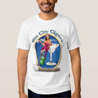 Our Original Sin City Martini Girl Logo Shirt
