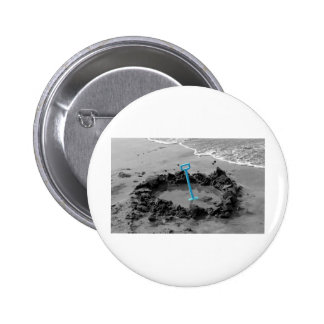 our own pool pinback button
